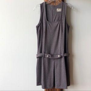 Buffalo David Bitton Belted Sleeveless Dress- L